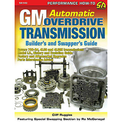 S-A BOOKS SA140 GM Automatic Overdrive Trans Guide