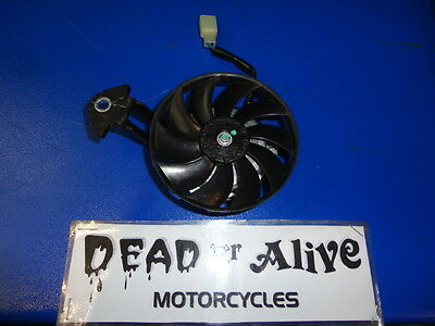 Yamaha Wr 125 X  Radiator Cooling Fan   Only 457 Miles