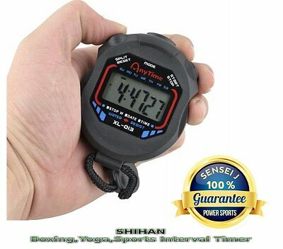 Boxing STOPWATCH Timer Workout Interval/Circuit Training Gym Fitness SHIHAN