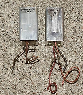 Pair Western Electric 174-B Output Transformers