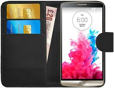 G-Shield® Premium Luxury Leather Magnetic Flip Wallet Case Cover For LG G3