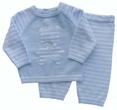 Baby Boys Spanish Romany Style Knitted 2 Piece Set Outfit by Zip Zap 6 months