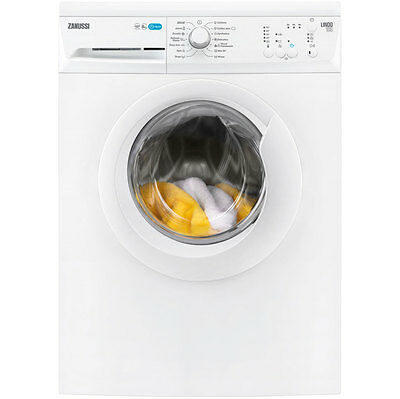 Zanussi ZWF81240W Lindo100 A+++ 8Kg 1200 Spin Washing Machine White New from AO