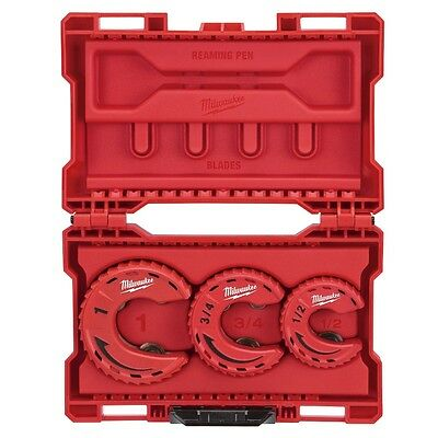 Milwaukee 48-22-4263 3pc Close Quarters Tubing Cutter Set - IN STOCK