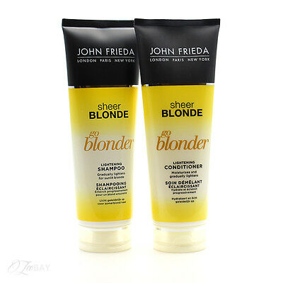 John Frieda Sheer Blonde Go Blonder Shampoo & Conditioner 250ml