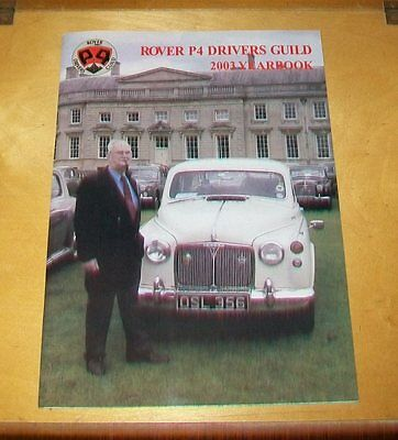 Rover P4 Drivers Guild 2003 Yearbook