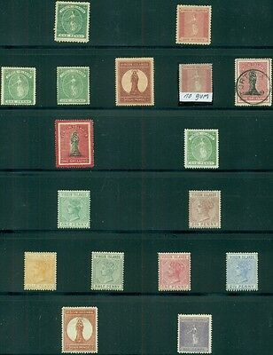 VIRGIN ISLANDS Collection 1866 – 1985 Complete from Scott #'s 1-489 Scott $3,462