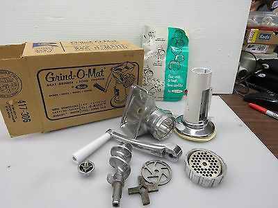 Rival Grind-O-Mat Meat Grinder Series 358 with Box    473