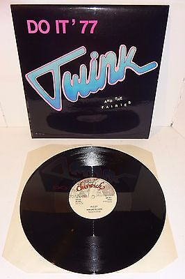 """TWINK AND THE FAIRIES DO IT 1977 1978 CHISWICK 1st PRESSING 12"""" + P/S - UNPLAYED"""