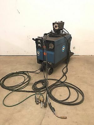 Miller CP-250TS Constant Potential DC Arc Welder Power Supply, 10-E Wire Feeder