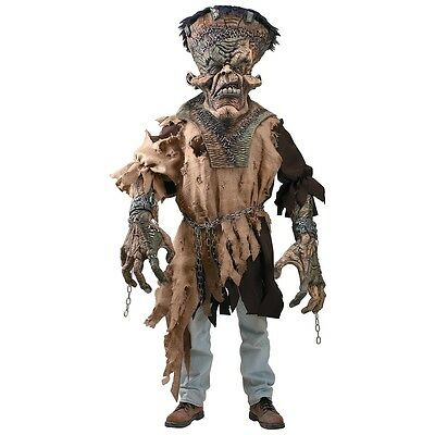 Frankenstein Creature Reacher Costume Adult Scary Monster Halloween Fancy Dress
