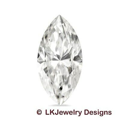 0.35 CT FOREVER CLASSIC MOISSANITE MARQUISE LOOSE STONE ( 7.0 x 3.5 mm)