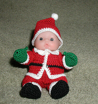 """Santa Claus Itty Bitty Baby - 5"""" Lots to Love Babies"""