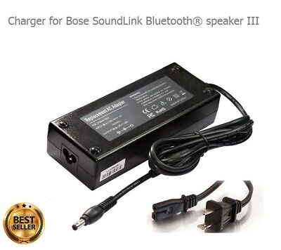 Charger for Bose SoundLink Bluetooth speaker III 3