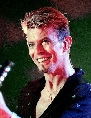 David Bowie Music Legend In Concert 8X10 Photo Photograph Picture