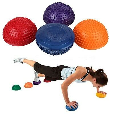 Yoga Durian Ball Trigger Point Half ball Body Muscle Fitness GYM Balance