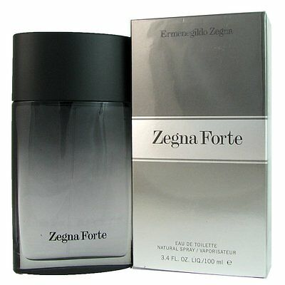 ERMENEGILDO ZEGNA FORTE 100ML EDT eau de toilette spray New in Sealed Box