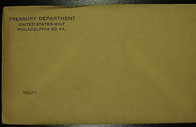 U.S Mint Silver Proof Set Original Sealed Envelope 1962 Birth Year