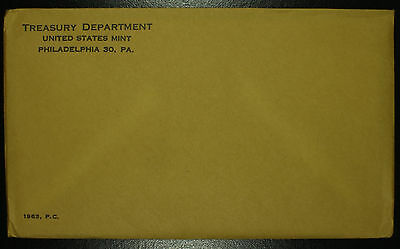 U.S Mint Silver Proof Set Original Sealed Envelope 1963 Birth Year