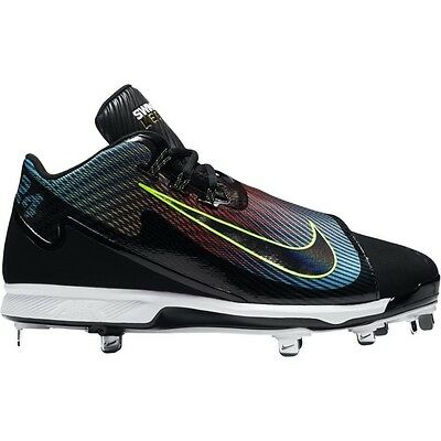Nike Air Swingman Legend Baseball Cleats MENS Sizes 8, 11 Black/Blue/Crimson
