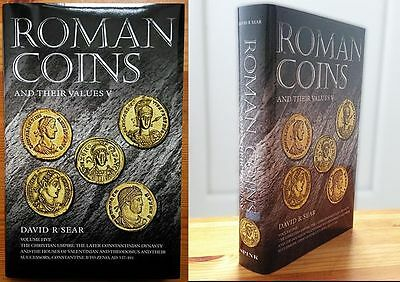 LAC  Roman Coins and Their Values V The Christian Empire NEW