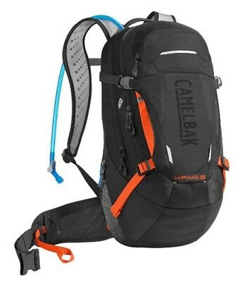 Camelbak Hawg LR 20L Hydration Pack with 3L Bladder  - Black/Laser Orange
