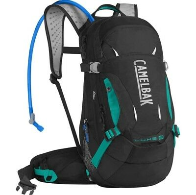 Camelbak Luxe LR 14L Hydration Pack with 3L Bladder - Black/Jade