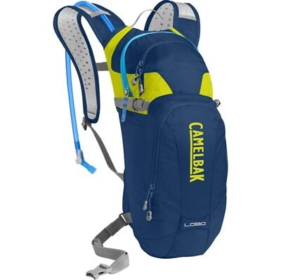 Camelbak Lobo Hydration Pack with 3L Bladder - Pitch Blue/Lime Punch