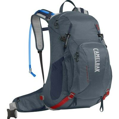 Camelbak Franconia LR 24L Hydration Pack with 3L Bladder- Slate/Rd