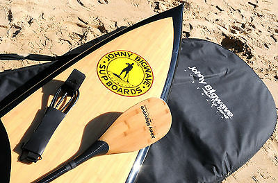 """New 12'6"""" SUP Board with deck pad, leash, bag, carbon fibre paddle and fin"""