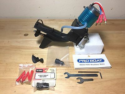 Outboard Electric RC marine boat  with Irwin (REK)  lower unit  NEW