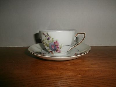 Victoria China Maytime Pattern  Tea set  Czechoslovakia EX Condition