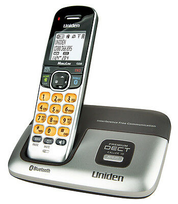Uniden DECT3216 DECT Digital Cordless Phone with Bluetooth. BLACK OUT FAILURE