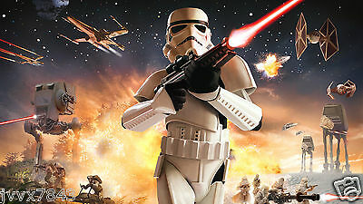 Star Wars Oil Painting HD Print On Canvas Wall Art stormtrooper NO Frame 24 L205