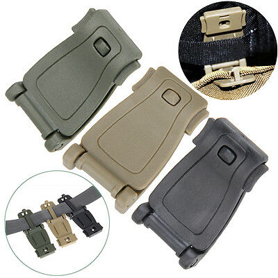 5x Molle Backpack Strap Webbing Connecting Clips Buckle EDC Outdoor Camping Bag