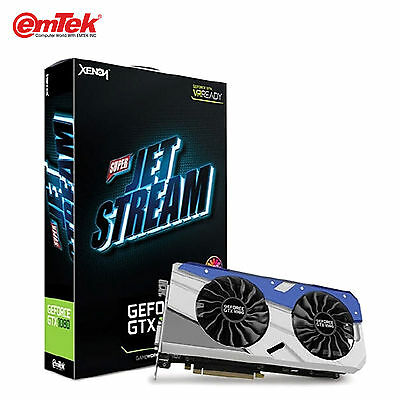 EMTEK GEFORCE GTX1080 4K Super JetStream D5X 8GB XENON 10000MHz Graphics  Card