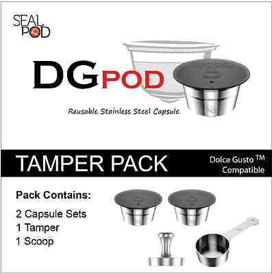 SealPod DG-03F DGPod Tamper Pack with Paper filter - Free Shipping