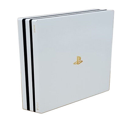 Premium Elaborated Skin Decal Sticker For PlayStation4 Pro PS4 Pro-POPSKIN White