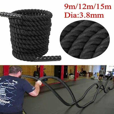 9/12/15M Training Battling Battle Power Rope Sport Exercise Fitness Bootcamp Uk