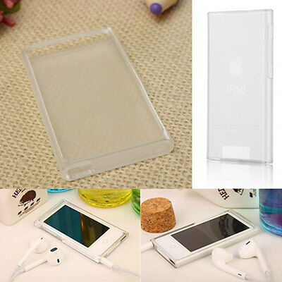 TPU Transparent Clear Gel Case Cover Skin Shell For Apple iPod Nano 7 7th Gen