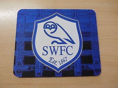 New Sheffield Wednesday Fc Soft Computer Mouse Mat
