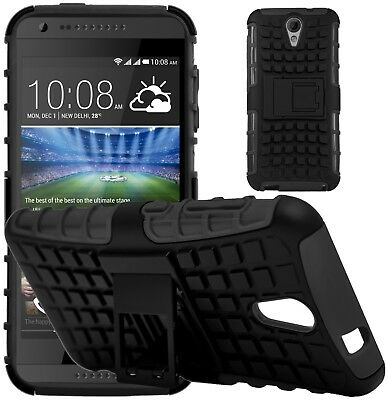 G-Shield® Shockproof Heavy Duty Hard Armour Stand Case Cover For HTC Desire 620