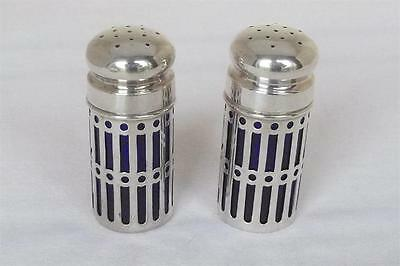 A FINE PAIR OF SOLID STERLING SILVER CANADIAN PEPPERS BY RODEN BROS Ltd.
