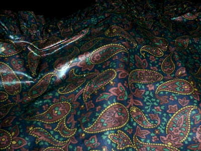 Longaberger Handle Gripper - Father's Day Paisley
