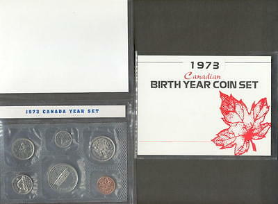 1973 Canada Proof Like Birth Year Coin Gift Set
