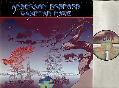 "ANDERSON BRUFORD WAKEMAN HOWE (OF YES) order of the universe 12"" PS EX/EX- uk"