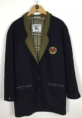 Burberry Wool Blazer - Jacket / Medium / Classic / Original /