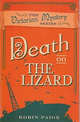 Death on the Lizard by Robin Paige, Book, New (Paperback)