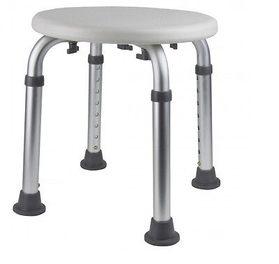 Round Shower Stool with Non Slip Feet