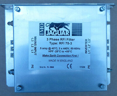 IMO Jaguar 3 Phase RFI Filter  RFI 75-3